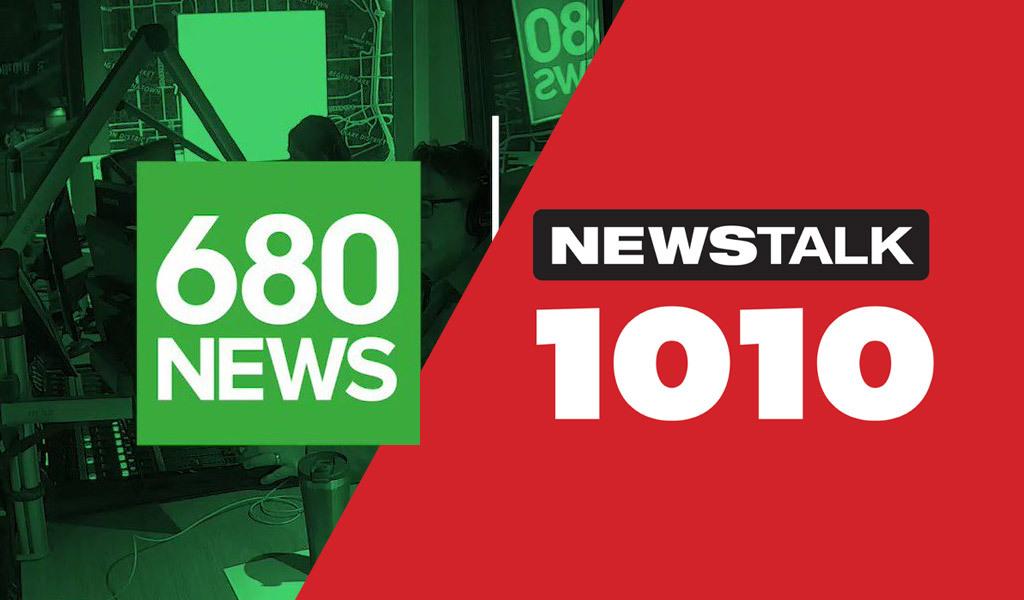 680 fm 1010 am radio station logo