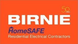 Birnie Homesafe Residential Electrical Contractors Logo
