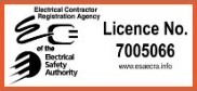 Electrical Safety Authority Licence Number 7005066