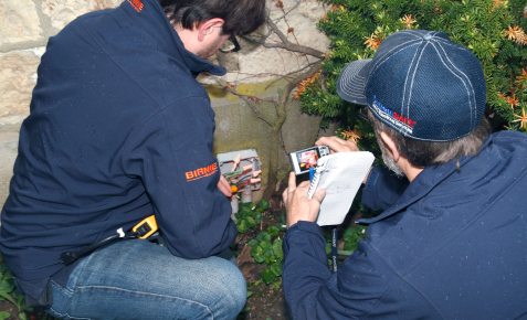 outdoor electrical inspection