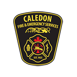 caledon fire department emblem