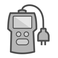 electrical analysis device icon