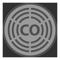 carbon monoxide detector icon
