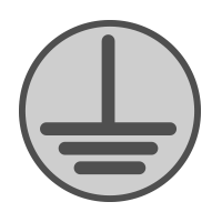electrical ground icon