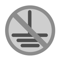 no ground electrical icon