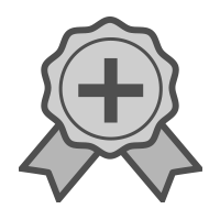 certificate ribbon icon
