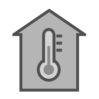 house temperature icons