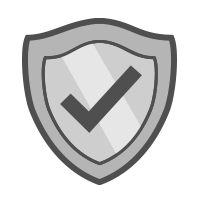 shield with checkmark icon