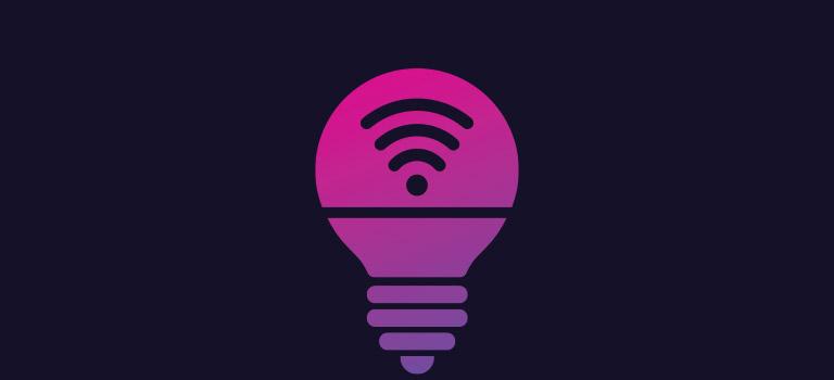 led smart light illustration